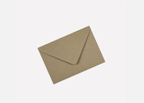 A6サイズメッセージカード / THE BISOU DE FOLIE