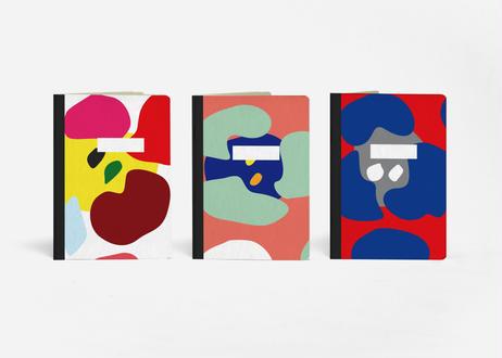 THE 3 POCKET NOTEBOOK_THE 3 AMAPOLA