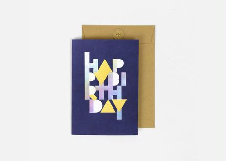 A5サイズメッセージカード / THE BIG BIRTHDAY