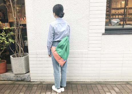ショッピングセット_ナップサック_ Beige / Green