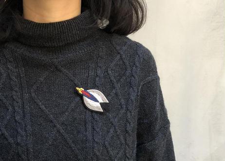 M&L 宇宙シリーズ 刺繍ブローチ