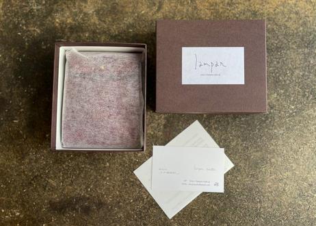 【受注製作】カードケース〈poly〉4色