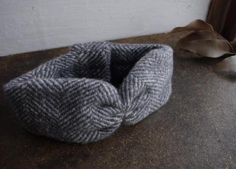 sinsin|ターバン/woolグレー