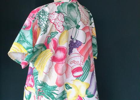 古着/やさいと果物とさかなシャツ