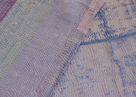 ヴィンテージラリーキルト|約140cm×220cm