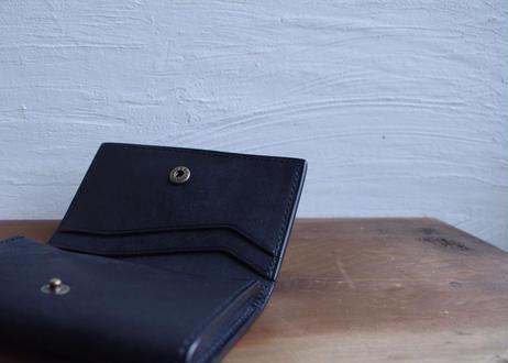 lampan|本革名刺入れ〈グレー/ブラック〉