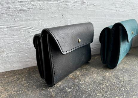 【受注製作】lampan 二つ折り財布〈イタリア製本革〉 magic 各色