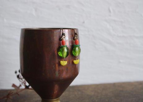 original costume jewelry/vintage parts  summer earring