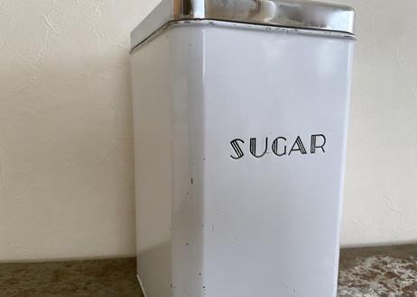vintage ミッドセンチュリーキャニスター「SUGAR」