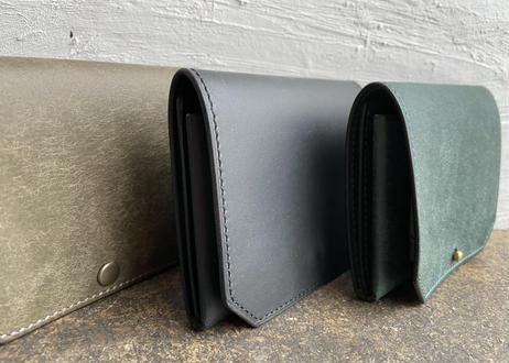 【職人直送】lampan|コンパクト財布〈お札まっすぐ〉3色