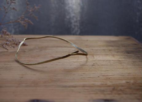 vue. 円の模索/円(真鍮)細 12cm