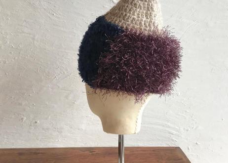 sin sin / 帽子(紺紫)