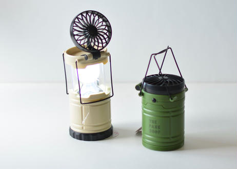 【 THE PARK SHOP  】PARKBOY FAN LANTERN(TPS-339) / カーキ