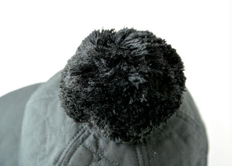 "【 franky grow 20AW 】BEAR QUILTING CAP +BONBON [20FWBB-225] "" 帽子 "" / BLACK"
