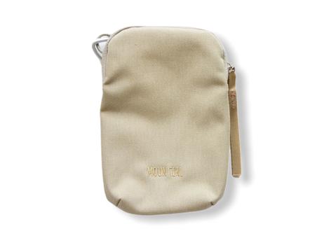 """【 MOUN TEN. 21SS 】mini porch [21S-MA32-0911] """"ポシェット"""" / beige"""
