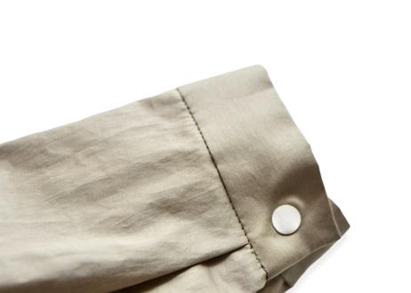 """【 MOUN TEN. 21SS 】80/1 washer big shirts [21S-MS16-0907c] """"ロングシャツ"""" / greige / 1(Ladies F  )"""