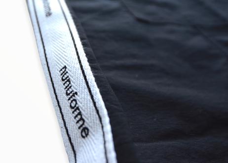 【 nunuforme 2020AW 】サイドテープワンピース [38-nf14-433-015] / Black