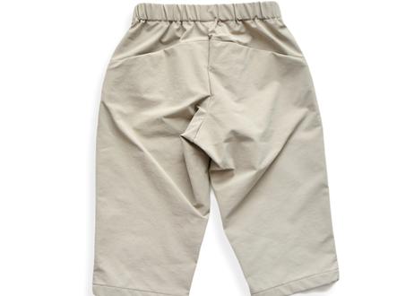 "【 MOUN TEN. 21SS 】double cloth stretch pants [21S-MP19B-0902c] ""パンツ"" / greige / 1(Ladies F  )"