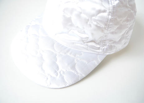 "【 franky grow 20AW 】BEAR QUILTING CAP [20FWBB-226] "" 帽子 "" / WHITE"