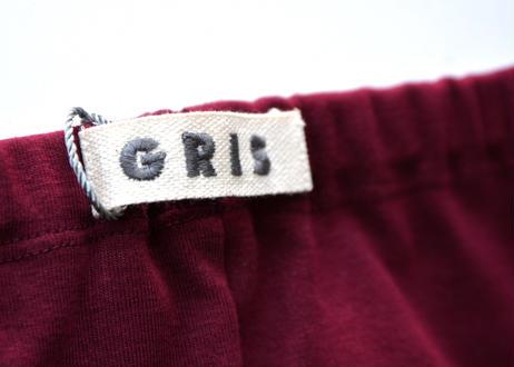 "【 GRIS 20AW 】GR20AW-CU005A ""Leggings"" ""レギンス"" / Rose / XS-S"