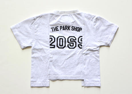 【 THE PARK SHOP 20SS 】TPS-255 BROKEN TOKYO TEE / white