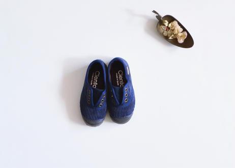 【 Cienta 】デッキシューズ コーデュロイ(955028) / navy / corduroy / 14~21cm