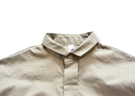 "【 MOUN TEN. 21SS 】80/1 washer big shirts [21S-MS16-0907a] ""ロングシャツ"" / greige   / 95-140"