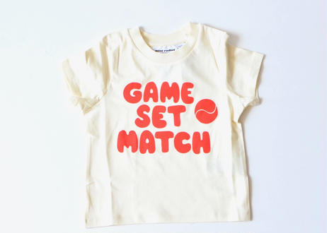 "【 mini rodini 2020SS 】Game sp tee(20220140) ""Tシャツ"""