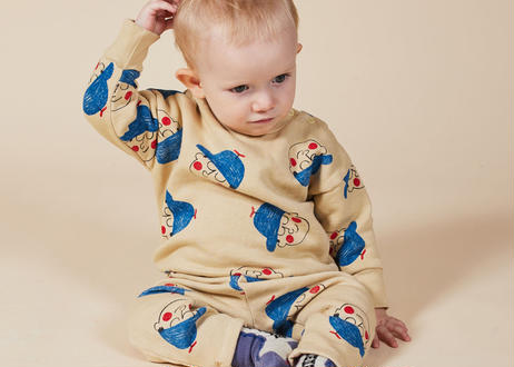 "【 BOBO CHOSES 20AW 】Boy All Over Sweatshirt(22000034)""スウェット"""