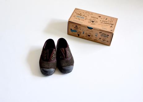 【 Cienta 】デッキシューズ コーデュロイ(955028) / brown / corduroy / 14~21cm