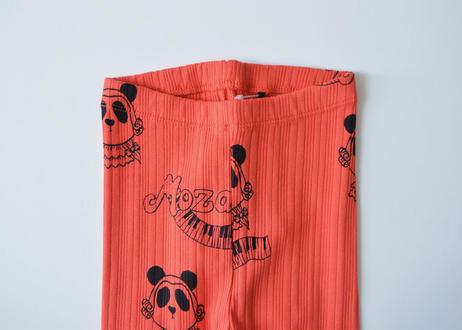 "【 mini rodini 2020AW 】Mozart aop leggings(20730127) ""レギンス""  / Red"