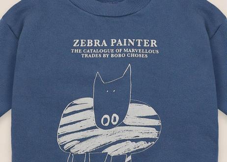 "【 BOBO CHOSES 20AW 】Zebra Painter Sweatshirt(22000028)""スウェット"""