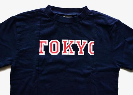 【 THE PARK SHOP 20SS 】TPS-255 BROKEN TOKYO TEE / navy