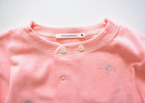 """【 ミナペルホネン 20AW 】YA8086P  choucho """" ロンパース """"  / pink / 70cm"""