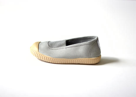 【 La Cadena 20SS 】 ELASTICO CENTRAL  DYED / GREY x BEIGE SOLE / 17〜21cm