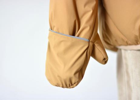 "【 MOUN TEN. 20AW 】air mitten blouson  [MT202036]  ""コート"" /  beige / 1(Ladies F)"