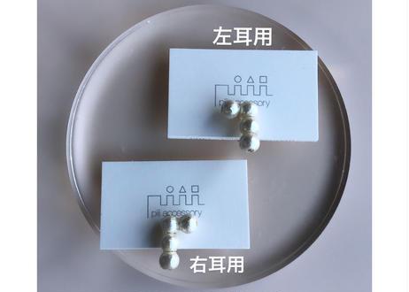 【WEB限定販売】記号ピアス・カフス(L字・片耳用)