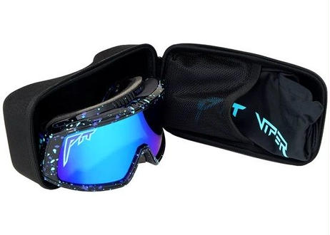 GOGGLES/MIDNIGHT Mirrored Lens and Low L (PITVIPER20034)