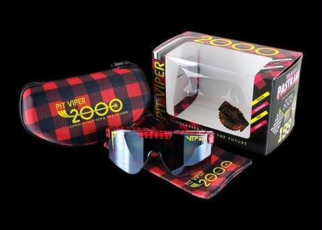 The 2000's【THE PARTY IN PLAID】(Black Mirror Z87 Rated Lens) / (PITVIPER20032)