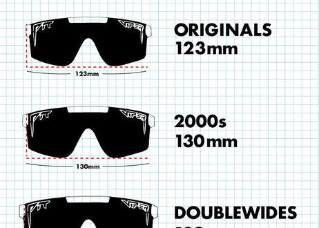 The Double Wides【THE MONSTER BULL】(Polarized Orange Revo Mirror Lens) 偏光 / (PITVIPER19027)