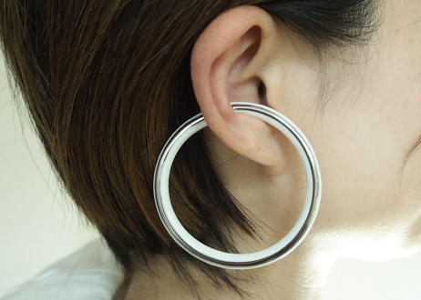 KODAMA TOKI THIS SIDE Earrings M Platinum