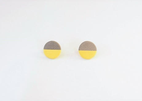 POINT HALF pierce  Gray / Yellow