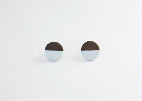 POINT HALF pierce Black / Blue