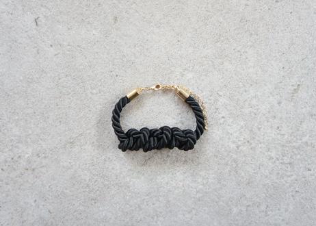 NOEUD 8knot-bracelet Black