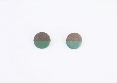 POINT HALF pierce Black / Green