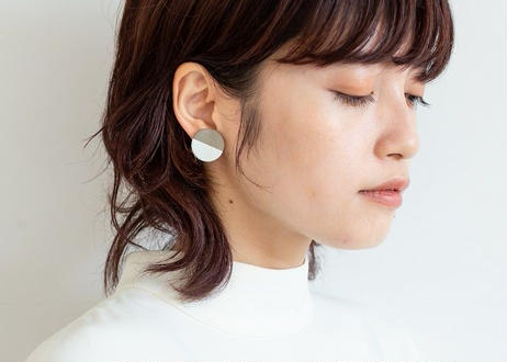POINT HALF pierce  Gray / White