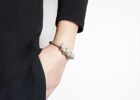 NOEUD 8knot-bracelet Beige