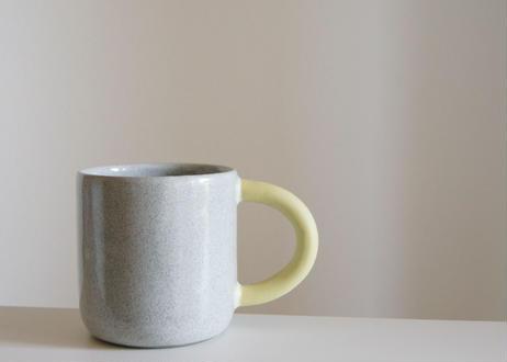 mug me  grey/yellow