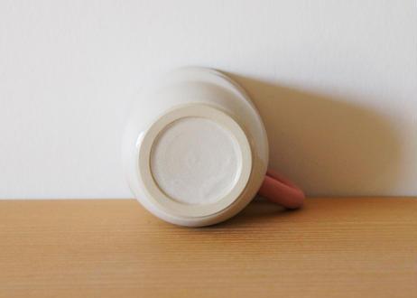 mug me  white/pink