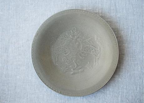 型打ち8寸皿 A _郡司製陶所
